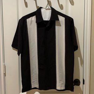 🕶Cubavera lounge button up shirt size M🕶